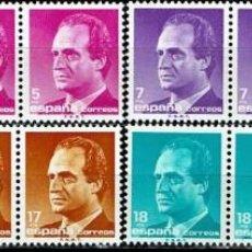 Sellos: ESPAÑA 1985 - EDIFIL 2794/2801 (**) EN PAREJAS. Lote 194968018