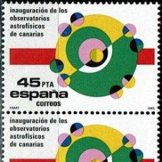 Sellos: ESPAÑA 1985 - EDIFIL 2802 (**) PAREJA. Lote 194968261