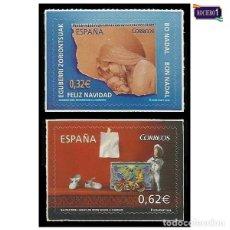 Sellos: ESPAÑA 2009. EDIFIL 4520-21 4521. NAVIDAD. NUEVO** MNH. Lote 194969370