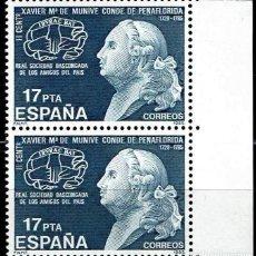 Sellos: ESPAÑA 1985 - EDIFIL 2824 (**) PAREJA. Lote 194985052