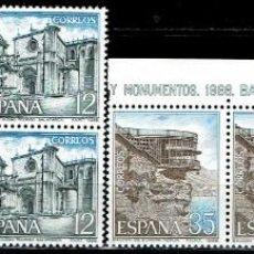 Sellos: ESPAÑA 1986 - EDIFIL 2835/2838 (**) EN PAREJAS. Lote 194989803