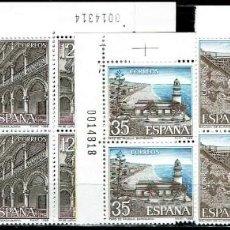 Sellos: ESPAÑA 1986 - EDIFIL 2835/2838 (**) EN BLOQUE DE 4. Lote 194990917