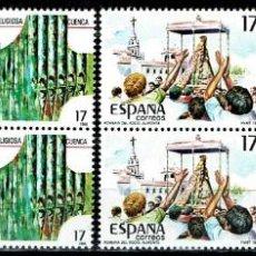 Sellos: ESPAÑA 1986 - EDIFIL 2840/2843 (**) EN PAREJAS. Lote 194991626