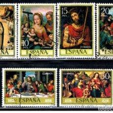 Sellos: ESPAÑA // EDIFIL 2537 À 2542 // 1979 ( ... USADOS. Lote 194992398