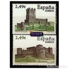 Sellos: ESPAÑA 2007. EDIFIL 4349-50 4350. CASTILLOS. NUEVO** MNH. Lote 195024552