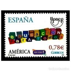 Sellos: ESPAÑA 2007. EDIFIL 4353. AMÉRICA-UPAEP. NUEVO** MNH. Lote 195025288