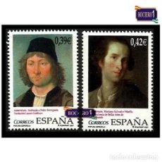 Sellos: ESPAÑA 2007. EDIFIL 4357/58 4358. PINTURA ESPAÑOLA. BERRUGUETE. NUEVO** MNH. Lote 195026815