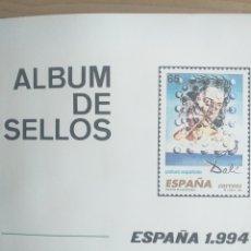 Sellos: SELLOS NUEVOS ESPAÑA AÑO 1994 COMPLETO + POSTALES + AEROGRAMAS (SIN FIJA SELLOS). Lote 195061846