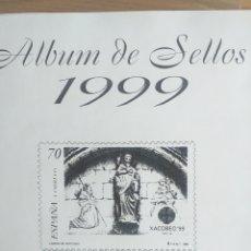 Sellos: SELLOS NUEVOS ESPAÑA AÑO 1999 COMPLETO + POSTALES + AEROGRAMAS (SIN FIJA SELLOS). Lote 195104761