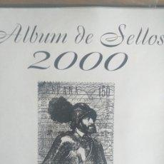 Sellos: SELLOS NUEVOS ESPAÑA AÑO 2000 COMPLETO (SIN FIJA SELLOS). Lote 195108420
