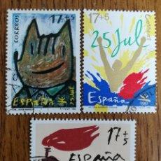 Sellos: N°3212/14 USADOS (FOTOGRAFÍA ESTÁNDAR). Lote 195119970