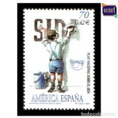 Sellos: ESPAÑA 2000. EDIFIL 3767. AMERICA-UPAEP. NUEVO** MNH. Lote 195147795