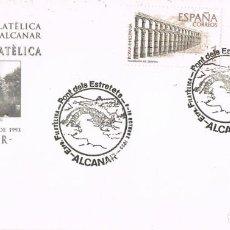 Sellos: 0782. CARTA ALCANAR (TARRAGONA) 1993. PONT DELS ESTRETETS, EXPOSCION, PUENTE. Lote 195176398