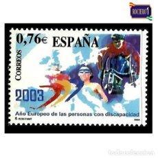 Sellos: ESPAÑA 2003. EDIFIL 3985. PERSONAS DISCAPACITADAS. NUEVO** MNH. Lote 195182237