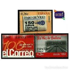 Sellos: ESPAÑA 2003. EDIFIL 4027/29 4029. DIARIOS CENTENARIOS. NUEVO** MNH. Lote 195197357