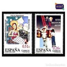 Sellos: ESPAÑA 2003. EDIFIL 4031-32 4032. NAVIDAD. NUEVO** MNH. Lote 195197478