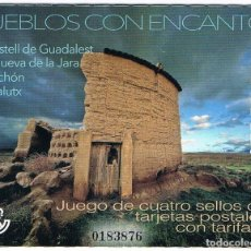 Sellos: ESPAÑA 2018 (5211-5214) PUEBLOS CON ENCANTO 3 (NUEVO). Lote 195232418