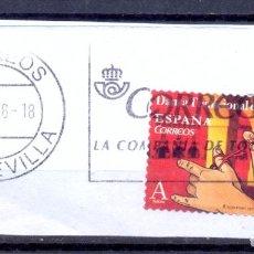Sellos: ESPAÑA MATASELLOS SEVILLA. Lote 195285607