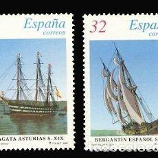 Timbres: 3475/76 SH BARCOS DE EPOCA. Lote 195287447