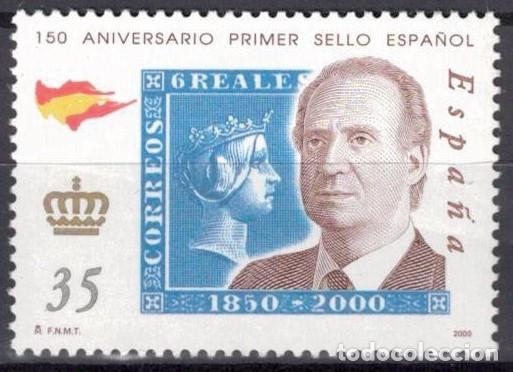 ESPAÑA 2000 -EDIFIL.3690 - 150 ANIV. PRIMER SELLOS ESPAÑOL (Sellos - España - Juan Carlos I - Desde 2.000 - Nuevos)