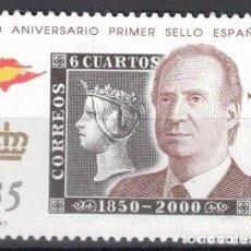 Sellos: ESPAÑA 2000 -EDIFIL.3688 - 150 ANIV. PRIMER SELLOS ESPAÑOL. Lote 195311588