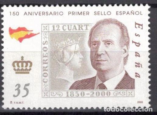 ESPAÑA 2000 -EDIFIL.3687 - 150 ANIV. PRIMER SELLOS ESPAÑOL (Sellos - España - Juan Carlos I - Desde 2.000 - Nuevos)