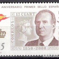Sellos: ESPAÑA 2000 -EDIFIL.3687 - 150 ANIV. PRIMER SELLOS ESPAÑOL. Lote 195311805