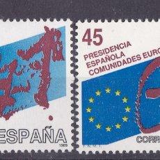 Sellos: LL3- PRESIDENCIA ESPAÑOLA COMUNIDADES EUROPEAS ** SIN FIJASELLOS VARIEDAD. Lote 195327287