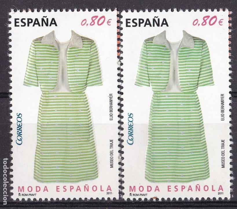 LL3-MODA ESPAÑOLA ** SIN FIJASELLOS VARIEDAD (Sellos - España - Juan Carlos I - Desde 2.000 - Nuevos)