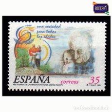 Sellos: ESPAÑA 1999. EDIFIL 3660. AÑO INTERNACIONAL DE LAS PERSONAS MAYORES. NUEVO** MNH. Lote 195340855