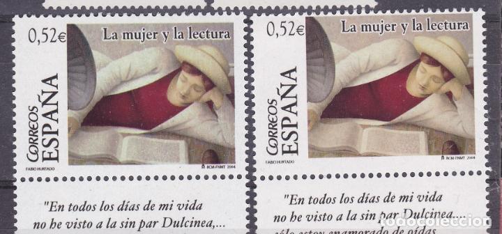 LL9- LA MUJER Y LA LECTURA VARIEDAD ** SIN FIJASELLOS (Sellos - España - Juan Carlos I - Desde 2.000 - Nuevos)