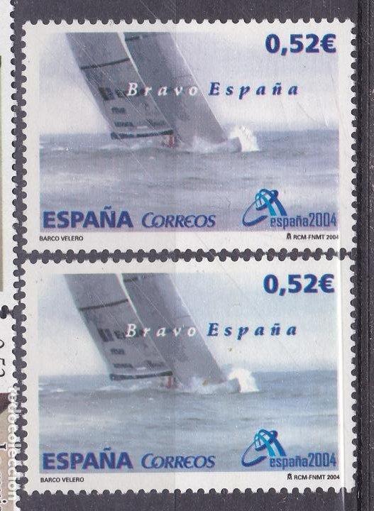 LL9- BRAVO ESPAÑA. VARIEDAD ** SIN FIJASELLOS (Sellos - España - Juan Carlos I - Desde 2.000 - Nuevos)