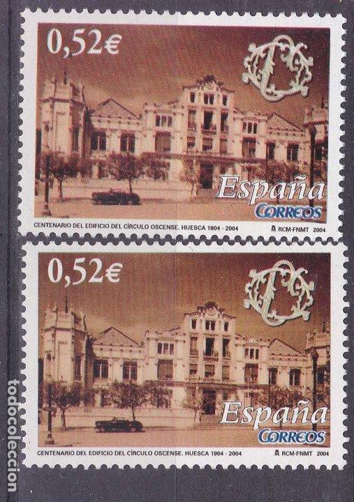 LL9- CÍRCULO OSCENSE .HUESCA . VARIEDAD ** SIN FIJASELLOS (Sellos - España - Juan Carlos I - Desde 2.000 - Nuevos)