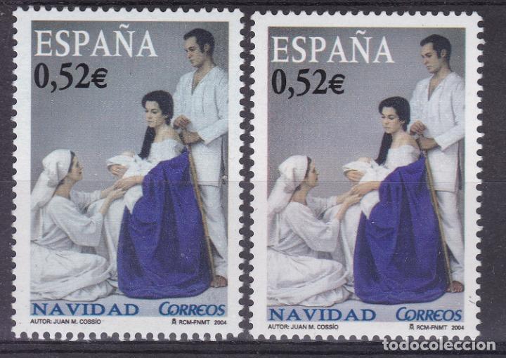 LL12- NAVIDAD 2004 VARIEDAD ** SIN FIJASELLOS (Sellos - España - Juan Carlos I - Desde 2.000 - Nuevos)