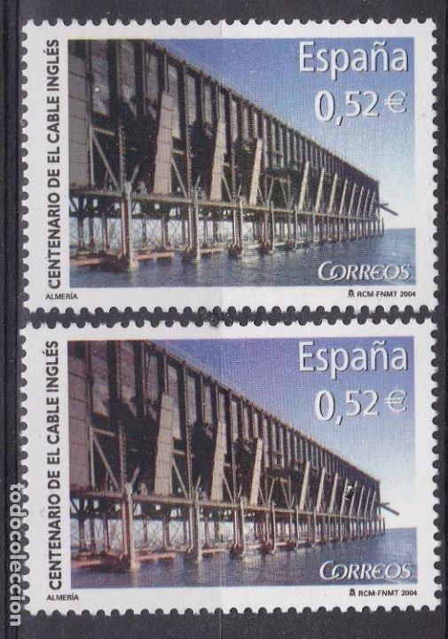 LL12- CENTENARIO CABLE INGLÉS VARIEDAD ** SIN FIJASELLOS (Sellos - España - Juan Carlos I - Desde 2.000 - Nuevos)