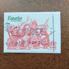 Sellos: SELLO EL ALCALDE DE ZALAMEA LITERATURA ESPAÑOLA CALDERÓN DE LA BARCA ESPAÑA. Lote 195389910