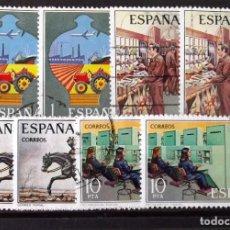 Sellos: 2329-32, DOS SERIES EN USADO. CORREOS.. Lote 195406993