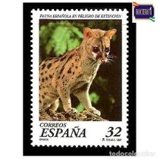 Sellos: ESPAÑA 1997. EDIFIL 3469. FAUNA ESPAÑOLA EN PELIGRO DE EXTINCIÓN. NUEVO** MNH. Lote 195438877