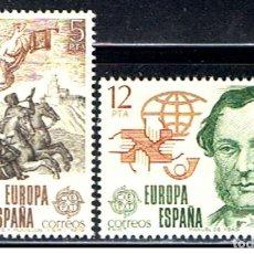 Sellos: ESPAÑA // EDIFIL 2520, 2521 // 1979 ... NUEVOS. Lote 195510220