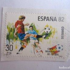 Sellos: SELLO DE ESPAÑA. 30 PESETAS. COPA MUNDIAL DE FUTBOL. ESPAÑA 1982. Lote 195544026