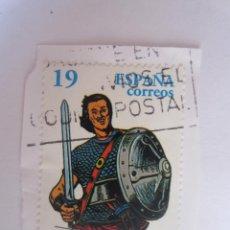 Sellos: SELLO DE ESPAÑA. 19 PESETAS. COMICS. PERSONAJES DE TEBEO. EL JABATO. 1996. Lote 195544692