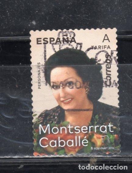ED Nº----- MONSERRAT CABALLE USADO (Sellos - España - Juan Carlos I - Desde 2.000 - Usados)