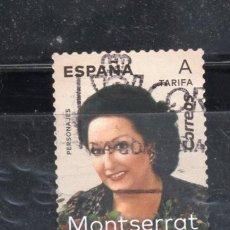 Sellos: ED Nº----- MONSERRAT CABALLE USADO. Lote 195666885