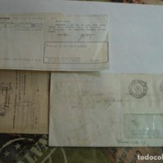 Sellos: SOBRE CON DOCUMENTACION BANCARIA MATASELLOS SANTA CRUZ DE LA ZARZA TOLEDO. Lote 195914193
