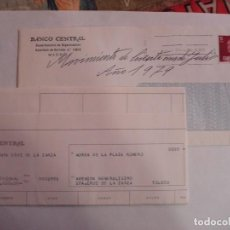 Sellos: VENDO SOBRE BANCO CENTRAL CON DOCUMENTACION BANCARIA. Lote 195914895