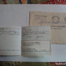 Sellos: VENDO SOBRE BANCO CENTRAL CON DOCUMENTACION BANCARIA MATASELLOS SANTA CRUZ DE LA ZARZA AÑOS 78. Lote 195914973
