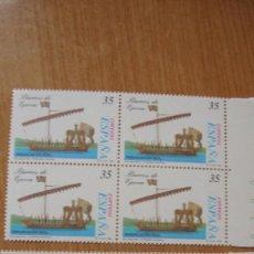 Sellos: ESPAÑA 1998 EDIFIL 3540/41 BLOQUE 4 NUEVOS PEFECTOS. Lote 195975863