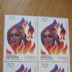 Sellos: ESPAÑA 1998 EDIFIL 3542 BLOQUE 4 NUEVOS PEFECTOS. Lote 195976066