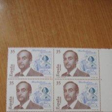 Sellos: ESPAÑA 1998 EDIFIL 350/51 BLOQUE 4 NUEVOS PEFECTOS. Lote 195977073