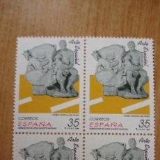 Sellos: ESPAÑA 1998 EDIFIL 3553 BLOQUE 4 NUEVOS PEFECTOS. Lote 195977516